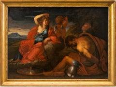 18th century Italian figure painting - Mythological scene - Oil on canvas Italy