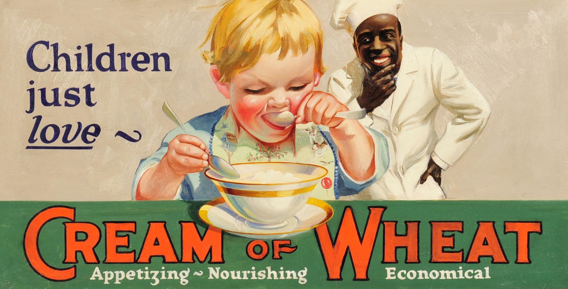 1925 Cream of Wheat Ad