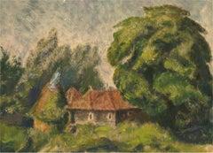 1934 Oil - The Hidden Cottage