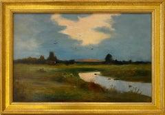 '19th Century American Landscape,' Oil on Canvas