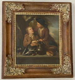 19th Century Dutch School Oil Painting