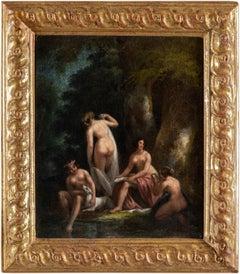 19th century Italian nude painting - Venus - Oil on canvas neoclassical Italy