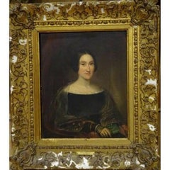 19th Century Portrait Traditionally Identified as Mary Shelley (1797-1851)