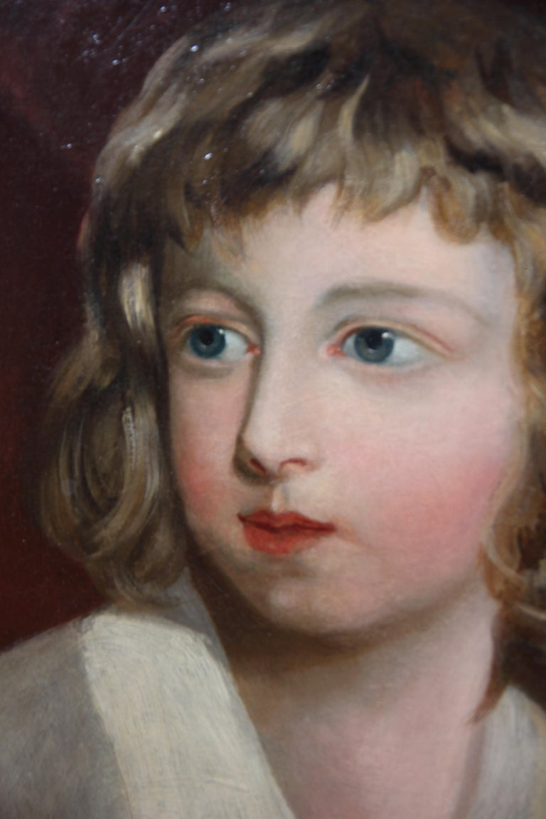 19th Century Portrait of a Girl For Sale 1
