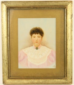 19th Century Primitive  Portrait