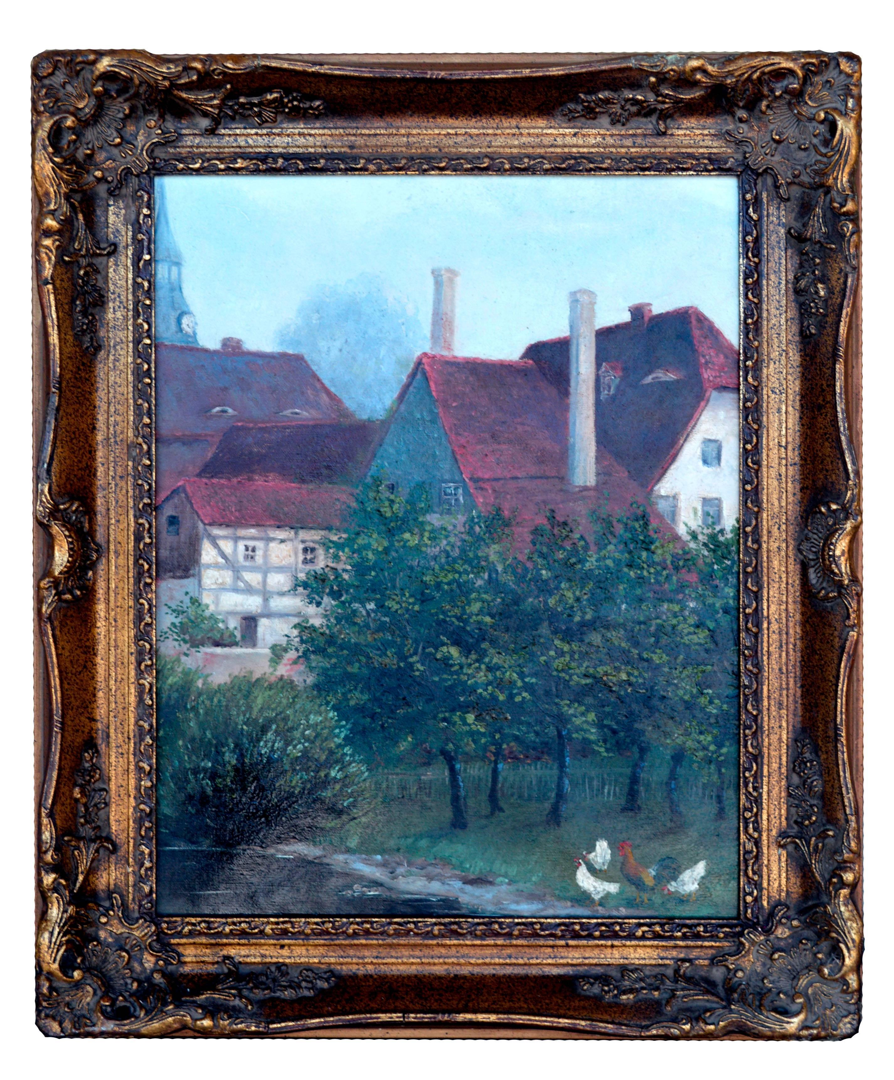 19th Century Sussex Landscape