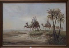 20th Century Acrylic - Camel Train