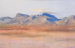 20th Century American school large watercolour and gouache 'Spirit of the desert