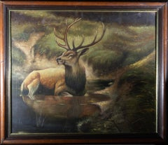 20th Century Oil - Highland Stag