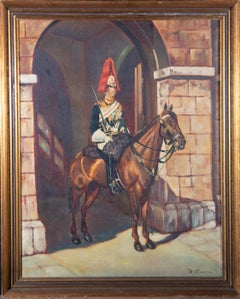 20th Century Oil - Trooper of the Royal Horse Guards