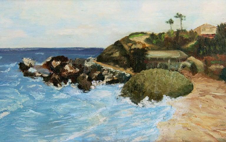 California  Sea Coastline  Landscape Painting 1
