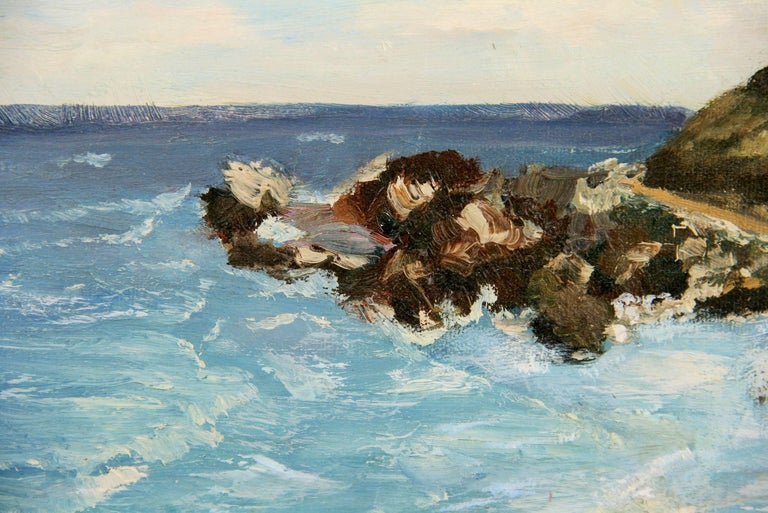 California  Sea Coastline  Landscape Painting 2