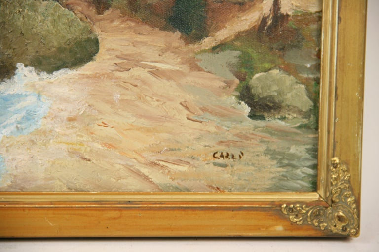 California  Sea Coastline  Landscape Painting 3