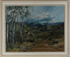 A. Thompson - Framed Mid 20th Century Oil, South African Landscape