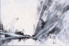 Abstract Black and White Landscape