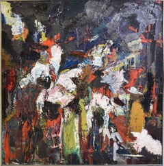 Abstract Expressionist Composition by Lefkowitz