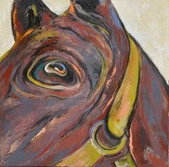Large Scale Abstract Expressionist Horse