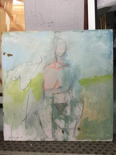 abstract figure pastels
