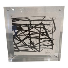 Abstract in Lucite