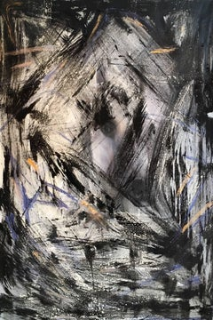 Abstract Oil Painting, Horse