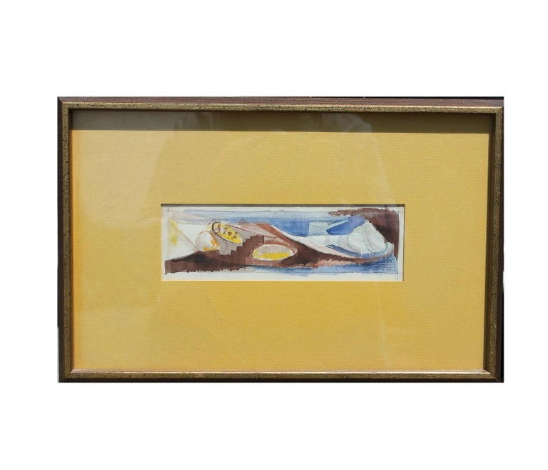 Unknown Still-Life Painting - Abstract Painting of Shells