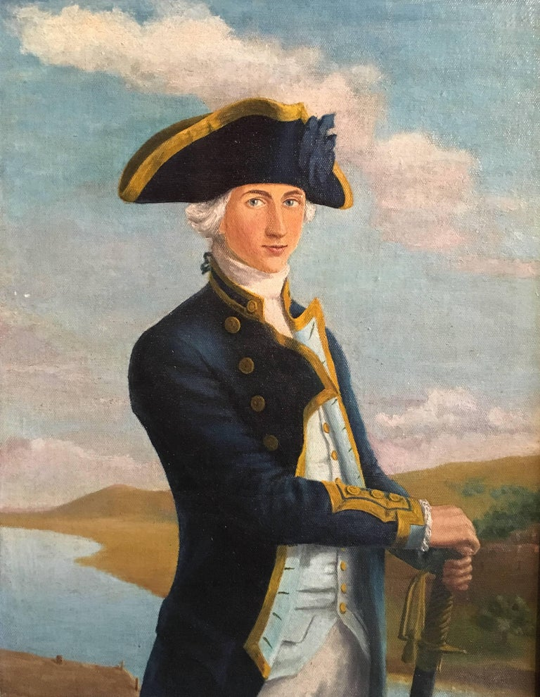 Admiral Lord Nelson, Fine Portrait, Oil Painting
