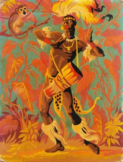 Paint by Numbers, 'African Drummer'