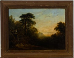 After Heiter - Framed Late 19th Century Oil, Grand Forest Landmark