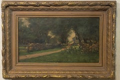 Alice R. Johnson, Boston Area artist late 19th C.  Landscape.