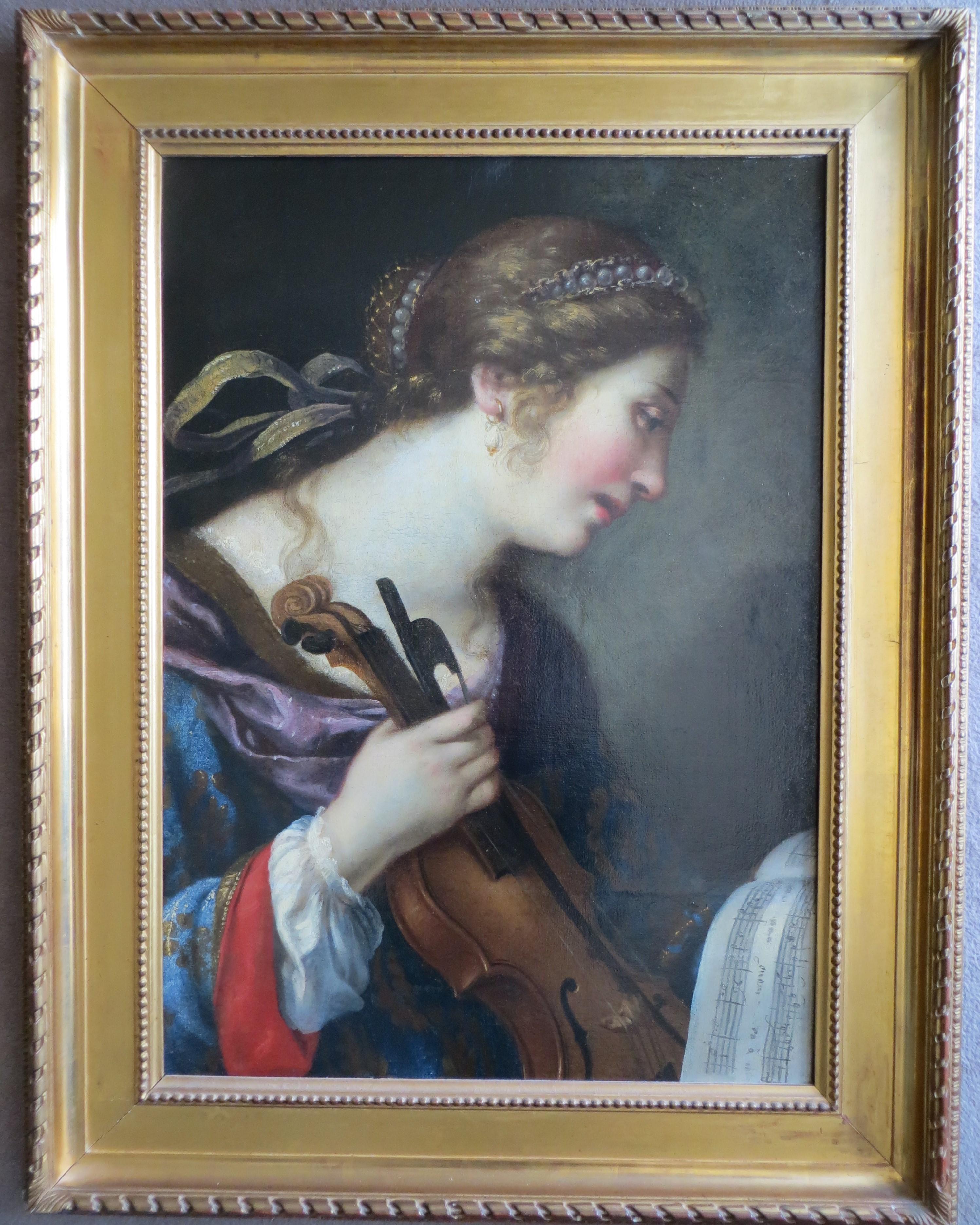 Allegory of Music School of Lorenzo Lippi