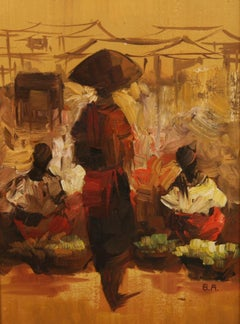 American Modern  Figures in Caribbean