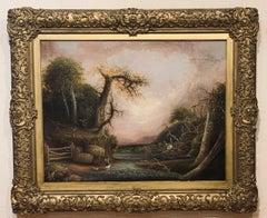American School Romantic Landscape, circa 1845-50.