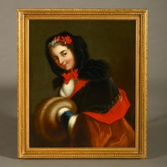 An 18th Century Portrait of Louise Henriette de Bourbon French School