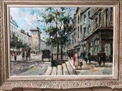 """Andre Picot Paris Street Scene """"Porte St Denn"""""""