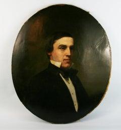 Antique American Gentleman Portrait 1890