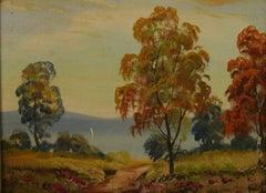 Antique Hudson Valley Landscape 1920