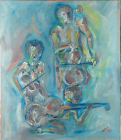 Antony - 1990 Oil, The Musicians