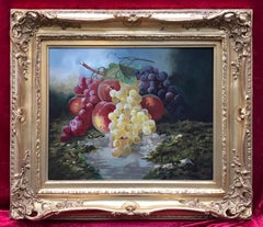 A.POURFILET - Original Painting Early 20th Century