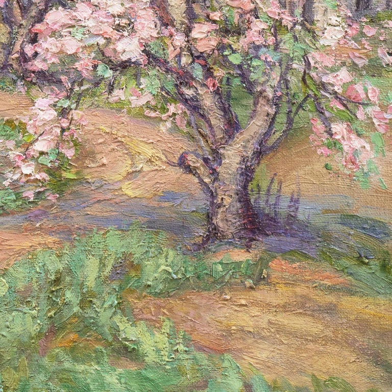 Unknown Apple Blossoms Painting For Sale At 1stdibs