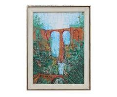Aqueduct Impressionist Landscape View