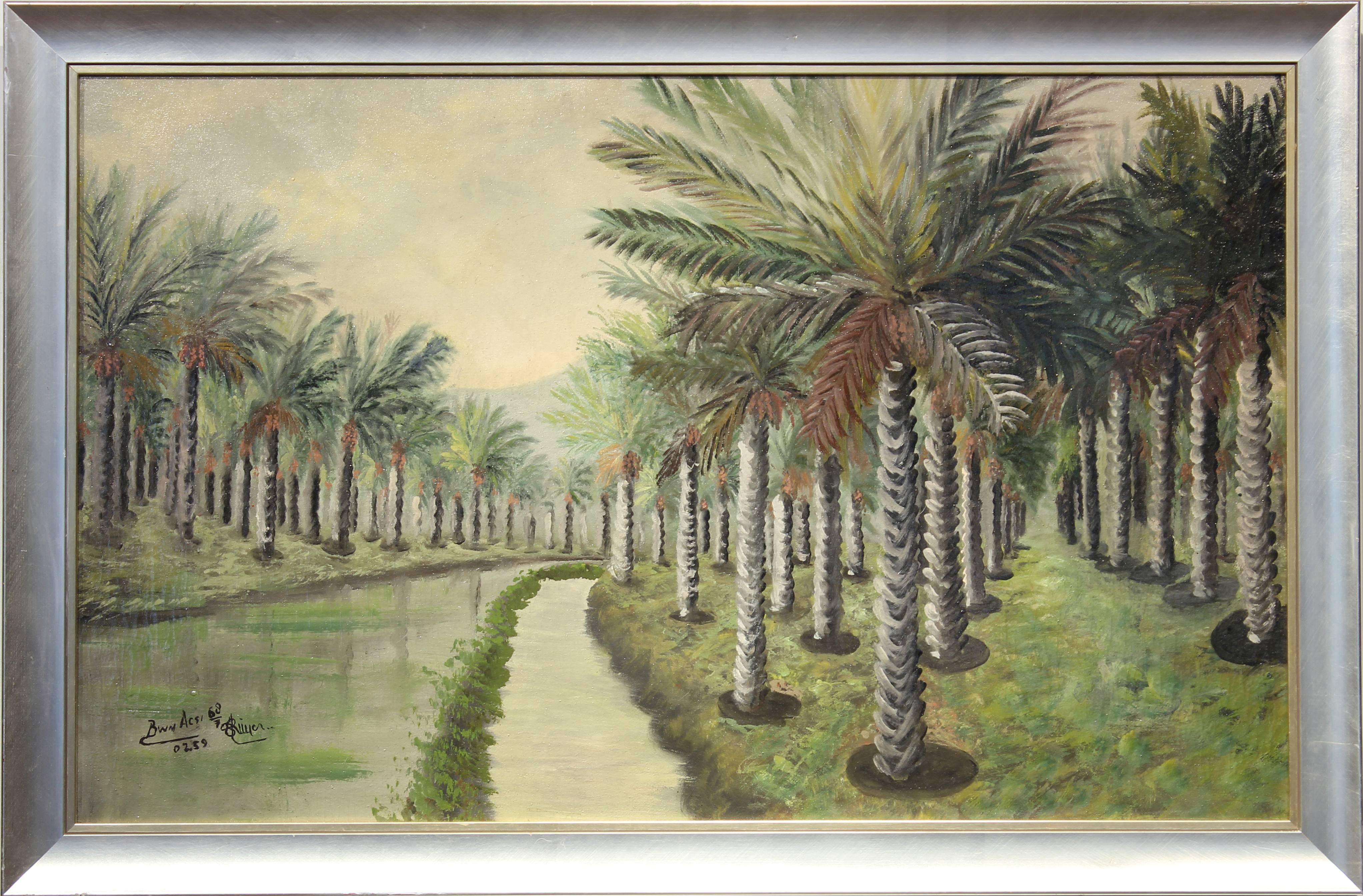 Architectural Palm Landscape