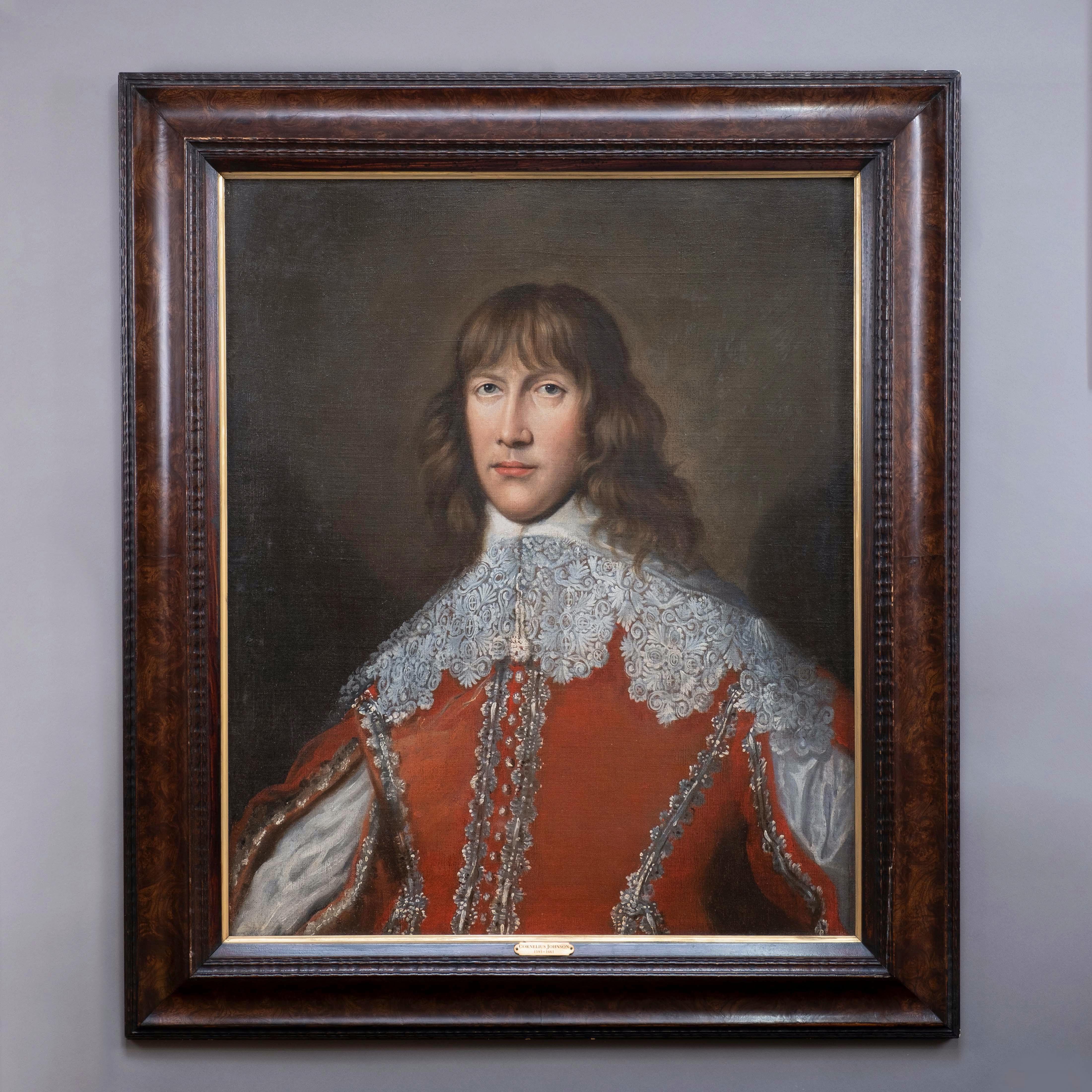 Attributed to Cornelius de Neve, Portrait of John, Lord Belasyse