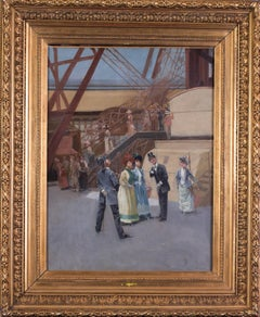 Au pied de la Galerie de la Grande Roue, Paris