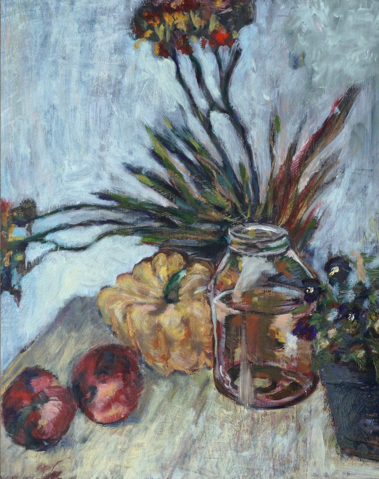Autumn Harvest Still Life #1 - Painting by Unknown