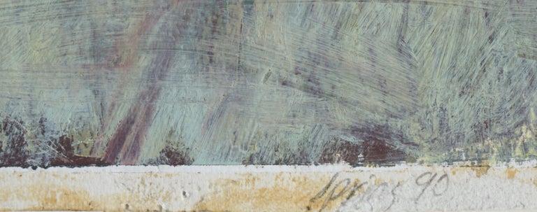 Autumn Harvest Still Life #1 - Gray Still-Life Painting by Unknown