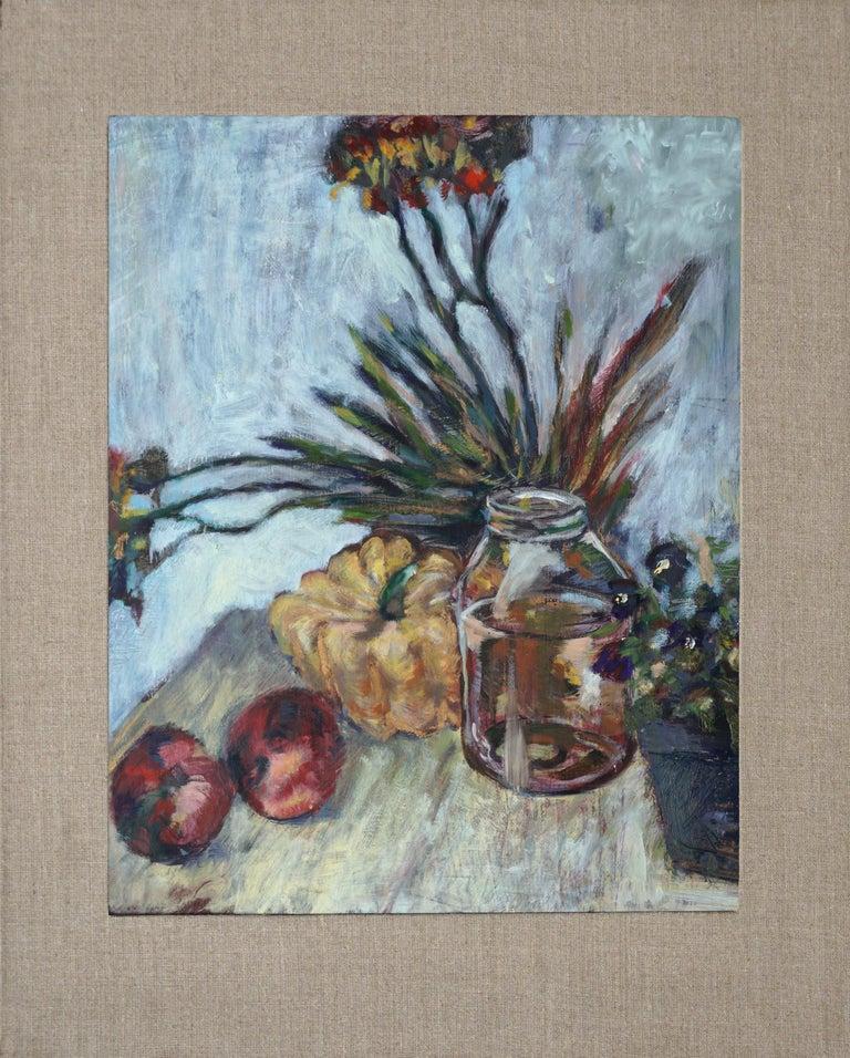 Unknown Still-Life Painting - Autumn Harvest Still Life #1