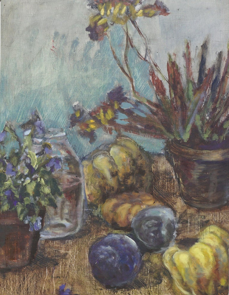 Autumn Harvest Still Life #2 - Painting by Unknown