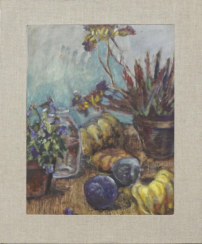 Unknown Still-Life Painting - Autumn Harvest Still Life #2