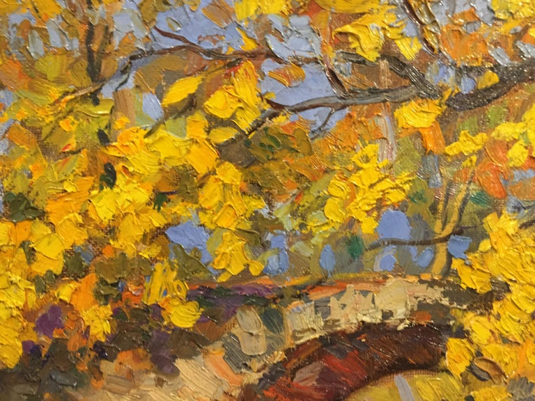 Autumn Splendor - Impressionist Painting by Unknown