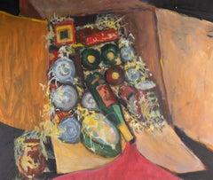 Barbara Doyle (b.1917) - 20th Century Oil, Vibrant Still Life